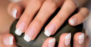 bio sculpture french manicure
