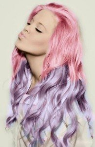 dip dyed hair at inspire beauty hairdressers, catford
