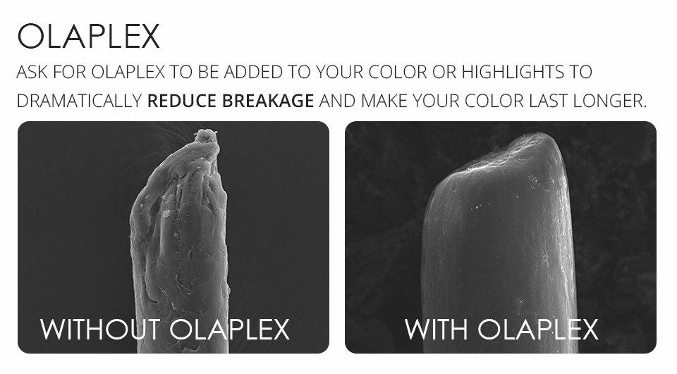 Olaplex hair conditioning treatment, catford hair & beauty salon