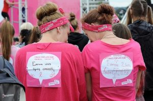 Cancer Research UK Race for Life runners