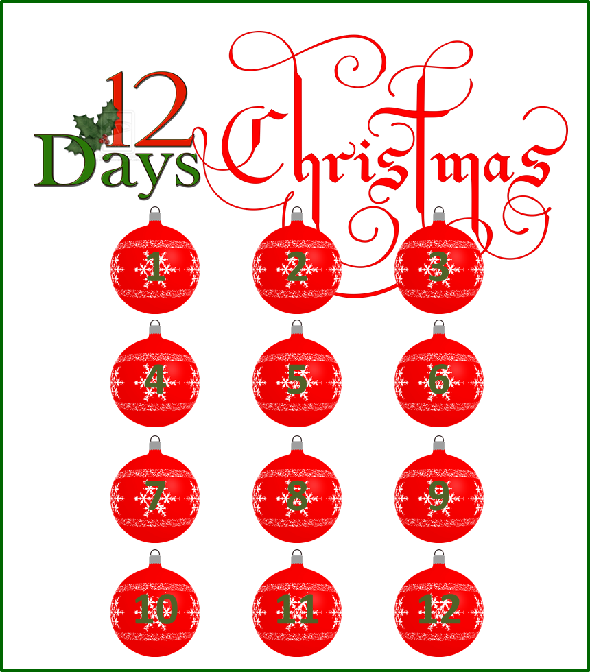 12 days of christmas offers for Beauty salon xmas offers