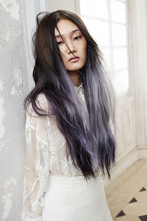 Silver Grey & Platinum Blonde Hair Colours