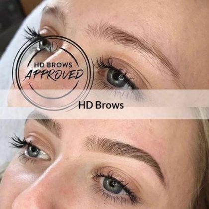 hd-brows at hair salon, hair color, Catford, London