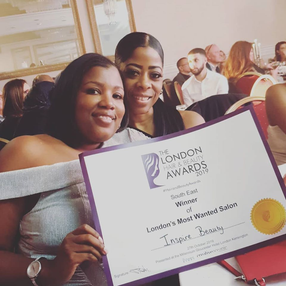 Inspire Beauty Wins 3 Top Awards