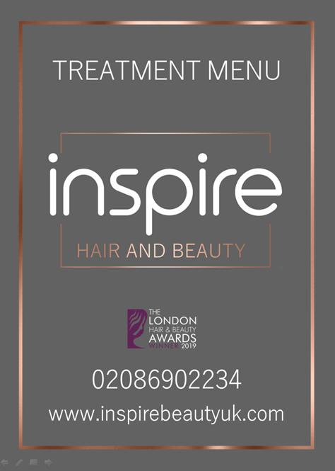 Treatment Menu – Hair