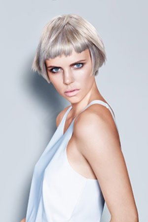 Platinum Blonde & Silver Grey Hair Colour Trends at Inspire Beauty Hair Salon in Catford