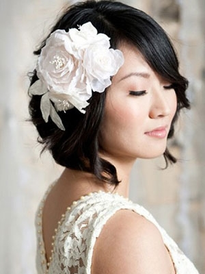 short-wavy-bob-for-wedding-hair